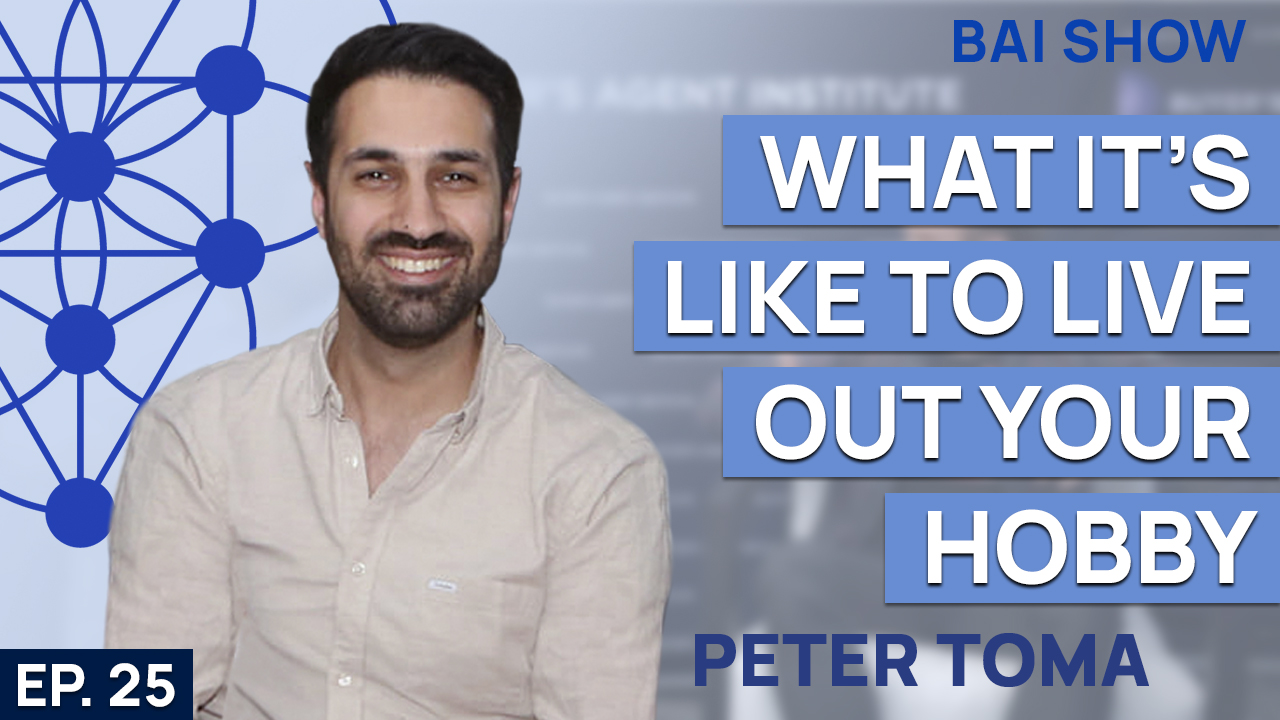 Buyer's Agent Peter Toma on what it's like to live out your hobby
