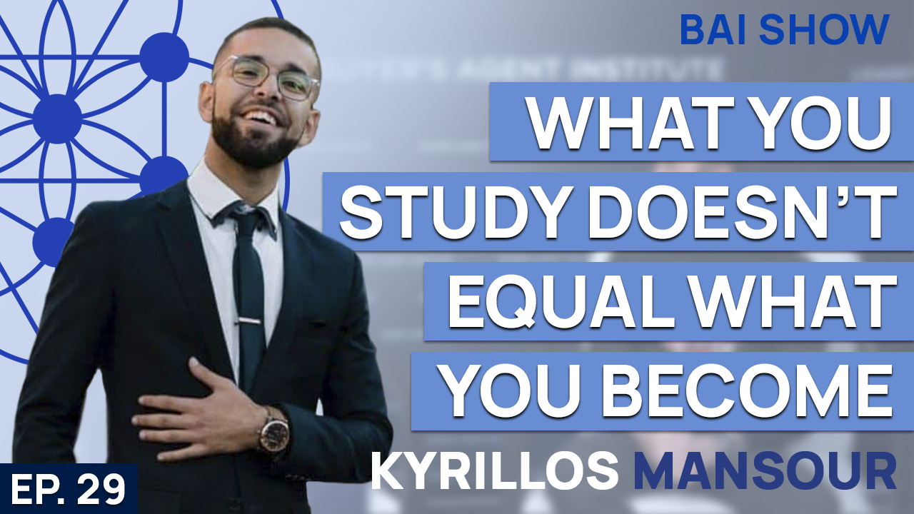 Buyer's Agent Kyrillos Mansour on why what you study doesn't equal what you become